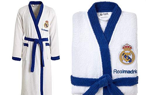 T&R Albornoz Algodón Oficial Real Madrid Talla 14-16 Años