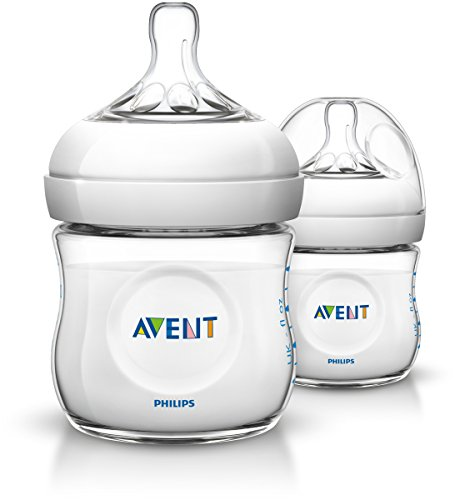 Philips Avent Naturnah-Flasche SCF690/27, transparent, Doppelpack, 125ml