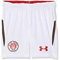 Under Armour 191480585047 FC St. Pauli Away Replica Pantalones Cortos, Infantil, White (101), Large