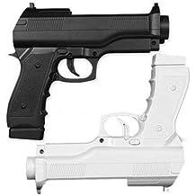 OSTENT Pistola ligera Gun Shooting Sport Video Game Compatible para Nintendo Wii Remote Controller Pack de 2