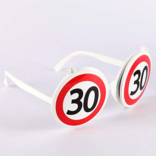 Udo Schmidt Scherz-Sonnenbrille zum 30