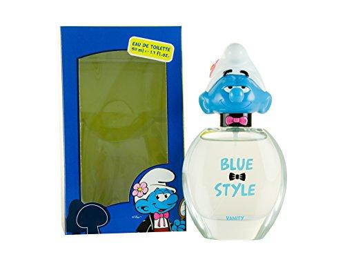 The Smurfs Vanity Vaporisateur d'eau de toilette pour enfants, 50 ml