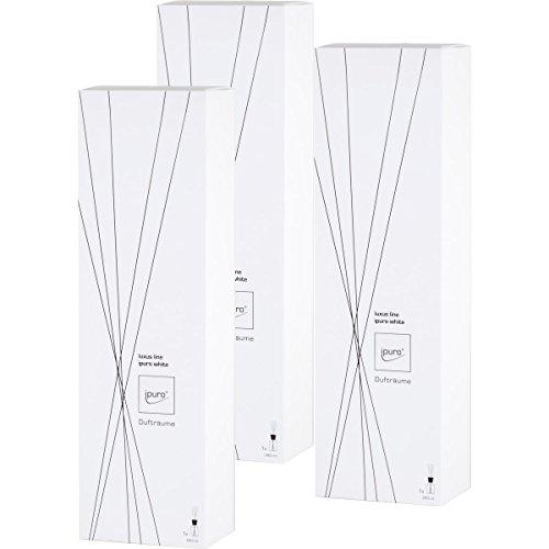 Preisvergleich Produktbild Essentials by Ipuro Luxus Line White 240ml Dufträume (3er Pack)