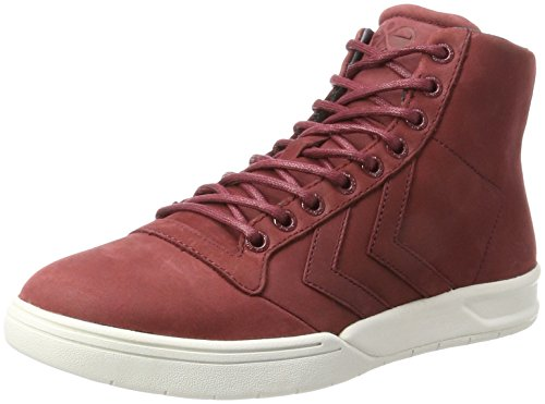 hummel Hml Stadil Winter High, Sneakers Hautes Mixte Adulte Rouge (Cabernet)