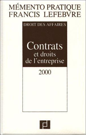 Mémento Contrats et Droits de l'entreprise