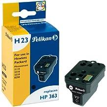 Pelikan HP 363 - Cartucho inkjet (para HP PhotoSmart 3110, 3210, 3310, 8250, 6 ml) color negro