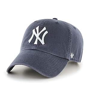 8347c2e12ce82 47 MLB New York Yankees CLEAN UP Cap – Cotton Twill Unisex Baseball Cap  Premium Quality