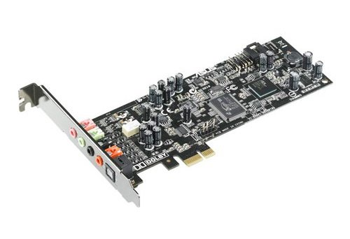 ASUS Xonar DGX Soundkarte 24-Bit 96 kHz 105 dB S/N 5.1 PCIe CMI-8786 Low Profile (90-YAA0Q0-0UAN0BZ), 90-YAA0Q0-0UAN0BZ