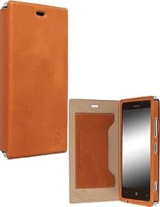 Krusell Kiruna Etui folio pour Nokia Lumia 925 Camel/Marron