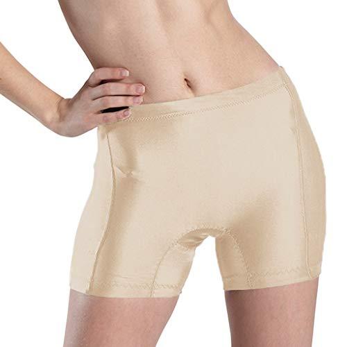 Mitlfuny Damen Push-up Bodyshaper Padded Shapewear Höschen Hip Enhancer,Plus Size Lingerie Sexy Panties Damen Interieur Push Up Gepolsterte Gefälschte Arsch Unterwäsche (Gepolsterte Höschen Size Plus)