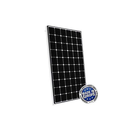 Placa Solar Fotovoltaico 300Wen silicio monocristalino EUROPEO, ideal para la construcción de sistemas fotovoltaicos se conecta con las redes (Sistemas Fotovoltaicos ON-GRID) y dos fotovoltaica autónoma (Sistemas Fotovoltaicos OFF-GRID)  Caracterís...