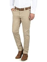 BLEND Tromp Herren Chino-Hose lange Business Hose Casual Stoffhose Freizeithose aus 100% Baumwolle