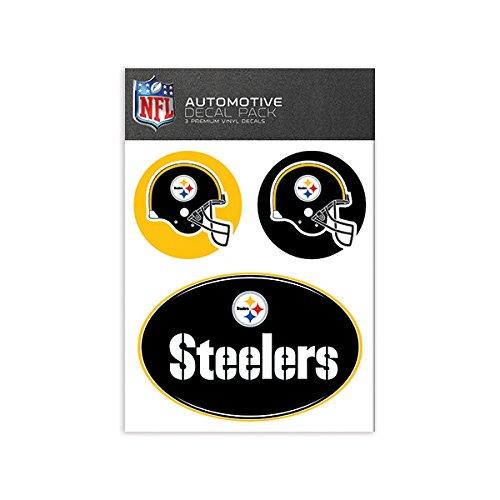 Skinit NFL Medium Aufkleber Pack, schwarz
