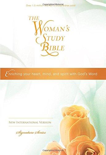 Niv The Woman S Study Bible Hardcover Multicolor Signature