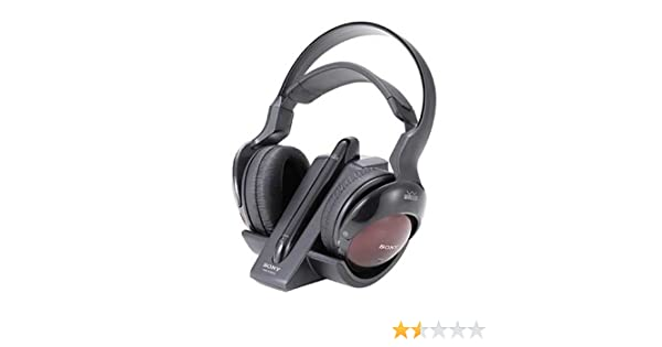 casque sony mdr rf850rk notice technique