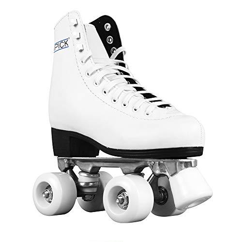 ATIPICK pat61237Schlittschuhe Eiskunstlauf-Set, weiß, 37