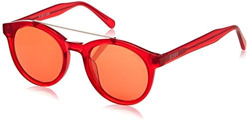Ocean Eye Montures de lunettes Mixte Adulte, Transparent (Rosso Trasparente) 48