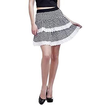 PepTrends Women's Free Size Flared Skirt