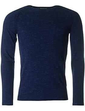 J Lindeberg Hombre Fredric teñido de lana, Azul