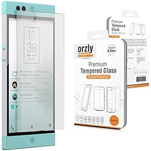 Orzly® - Premium Vetro Temperato 0,24mm per NEXTBIT ROBIN SmartPhone (2016 Modello) - Pellicola Prottetiva Vetro Solido Protezione dello Schermo Ultra Resistente 8-9H - TRANSPARENTE