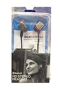 D'clair Ducasso Premium Bluetooth HD Stereo Headset for Lenovo S820