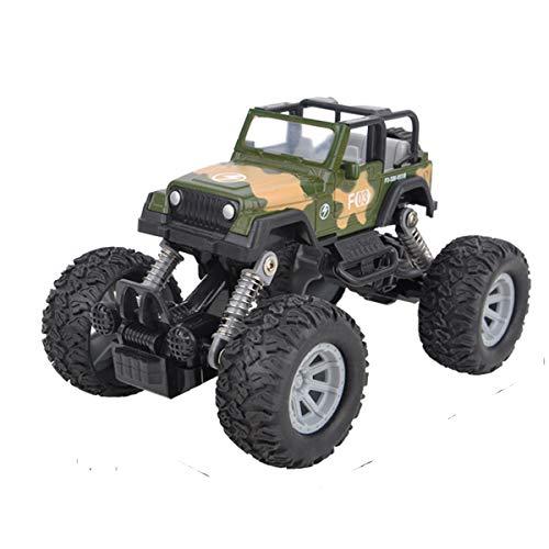 cks zurückziehen, mit 4 unabhängigen Stoßfedern, 4-Rad-Antrieb, kraftbetrieben, Offroad-Geschenk für Kinder (Camouflage) ()