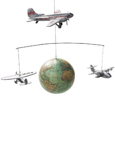 Authentic Models / AP124 / Mobile Globus und Flugzeugmodelle