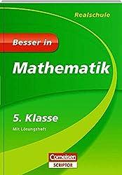 Besser in Mathematik - Realschule 5. Klasse - Cornelsen Scriptor (Cornelsen Scriptor - Besser in)