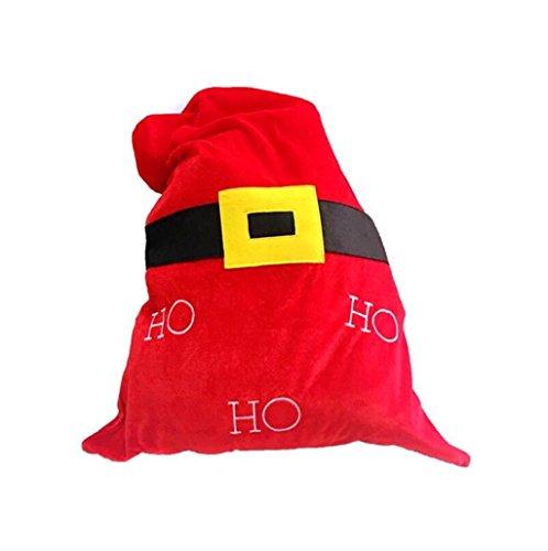tüten, Christmas Day Dekoration Santa Große Sack Strumpf Tasche , B (Mini-filz-weihnachts-strümpfe)