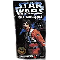 "Star Wars Collector Series 12"" Luke Skywalker in X-wing Gear Doll Figure By K... (japan import)"
