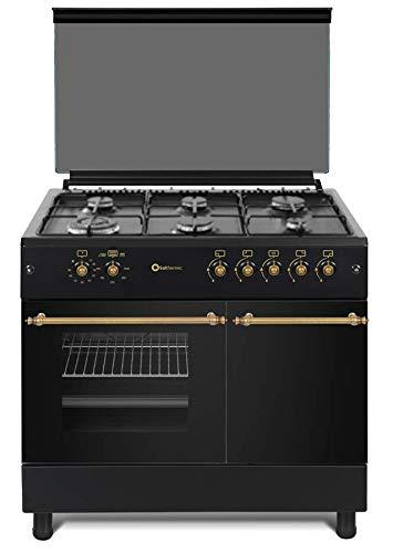 Cocina SolThermic F9LT50G2 NEGRA PORTABOMBONA parrilla