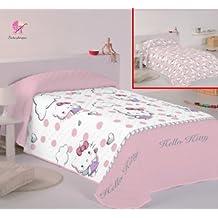 Copriletto Hello Kitty Singolo.Amazon It Hello Kitty Trapunta