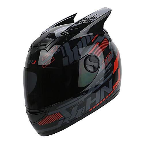 Casco De Motocross De Oreja De Gato Mujer Anti Niebla