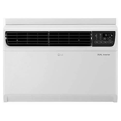 LG 1 Ton 3 Star Inverter Window AC (Copper, JW-Q12WUXA, White)