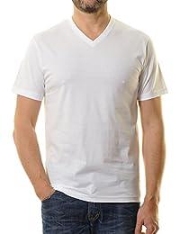 RAGMAN Herren RAGMAN Doppelpack - 2 T-Shirts mit V-Ausschnitt a5123bd62a