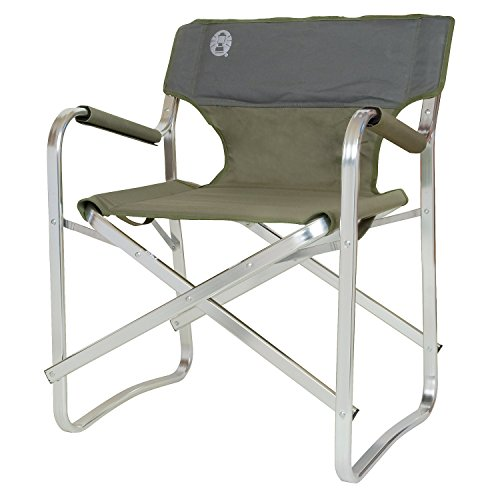 Coleman Campingstuhl Deck Chair Stuhl, Grün, one size