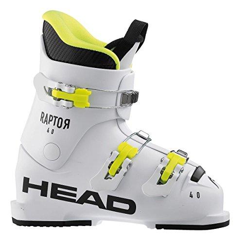 HEAD Kinder Raptor 40 Skischuhe, White, 220