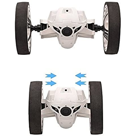 SainSmart Jr. inteligente de rebote Jump Stunt Car con ruedas flexible (blanco)
