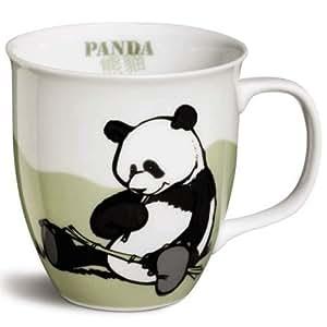 nici 32505 tasse panda hellgr n k che. Black Bedroom Furniture Sets. Home Design Ideas