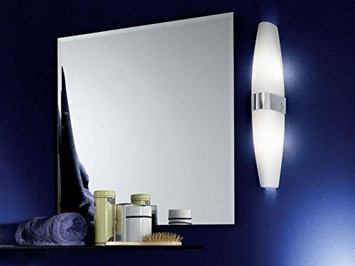 Eglo DAMIEL Apto para uso en interior E14 40W Cromo iluminación de pared - Lámpara (2 bombilla(s), 40 W, E14, IP20, Cromo)