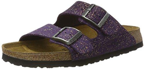 Papillio Damen Arizona Leder Pantoletten, Violett (Grace Violet), 35 EU (Papillio Arizona)