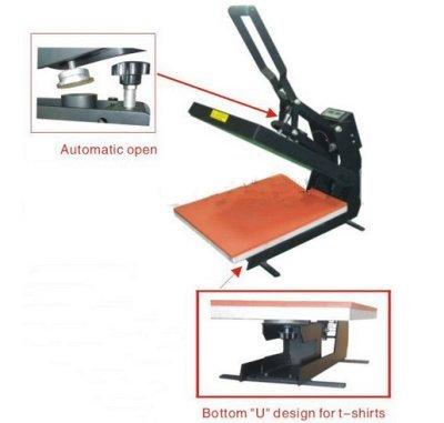 Preisvergleich Produktbild GOWE Automatische, magnetische T-shirts Hitze-Presse-Maschine, 40 x 60 cm