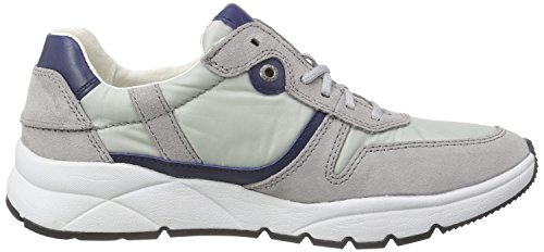 Camel Active Rush 12, Baskets Basses Homme Gris - Grau (lt.grey/royalblue)