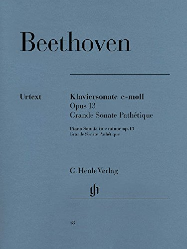 Sonate Nr. 8 c-moll op. 13 (Pathétique). Klavier