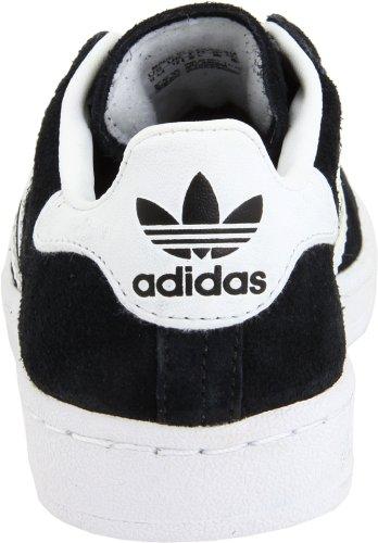 Adidas Campus II Wildleder Sportliche Turnschuh Black/White
