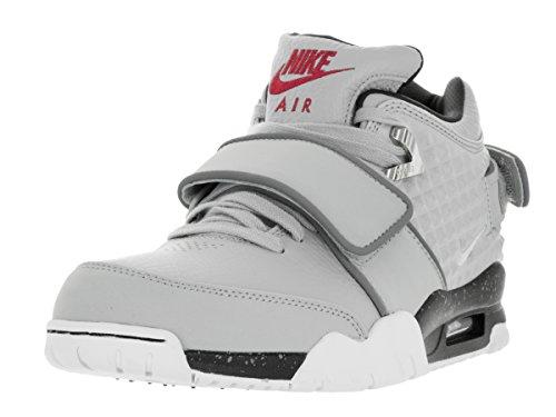 Nike Air Tr. V. Cruz, Chaussures de Foot Homme Gris / Blanc / Noir (Wlf Gry / Mtllc Slvr-Blk-Brght C)