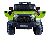 Toy House Off Roader Jeep Rechargeable Battery Operated Ride-on for Kids(2 to 6yrs)