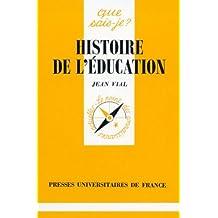 Histoire de l'éducation
