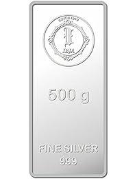 IBJA Gold Investment 500 gm Silver Coin Frames for Women (IG500GMS999INVBR057)