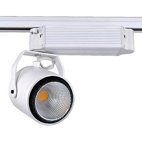 ZQQ I riflettori della pista 40W LED illuminazione della pista pista illuminazione AC85-265V negozio caldo/freddo (Illuminazione Della Pista)